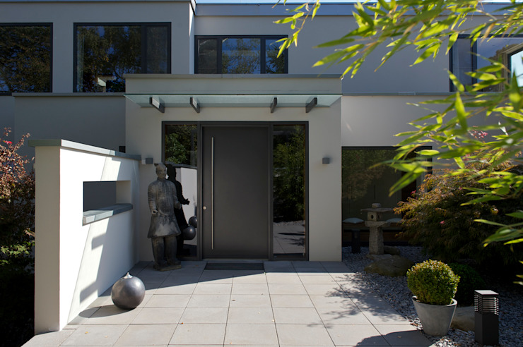 Eingang Moderne Häuser von Dr. Schmitz-Riol Planungsgesellschaft mbH Modern