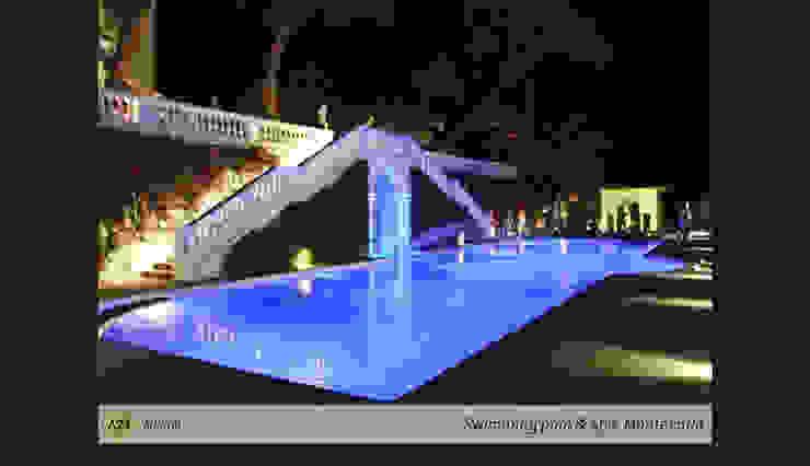 Private Spa and Swimming Pool A2T Piscina in stile in stile classico