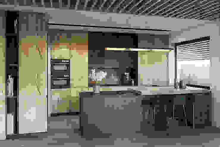 Cocinas de estilo moderno de razoo-architekci Moderno