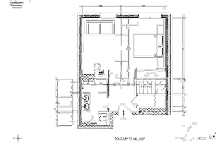 Phòng ngủ phong cách hiện đại bởi Agence architecte intérieur Paris Hiện đại