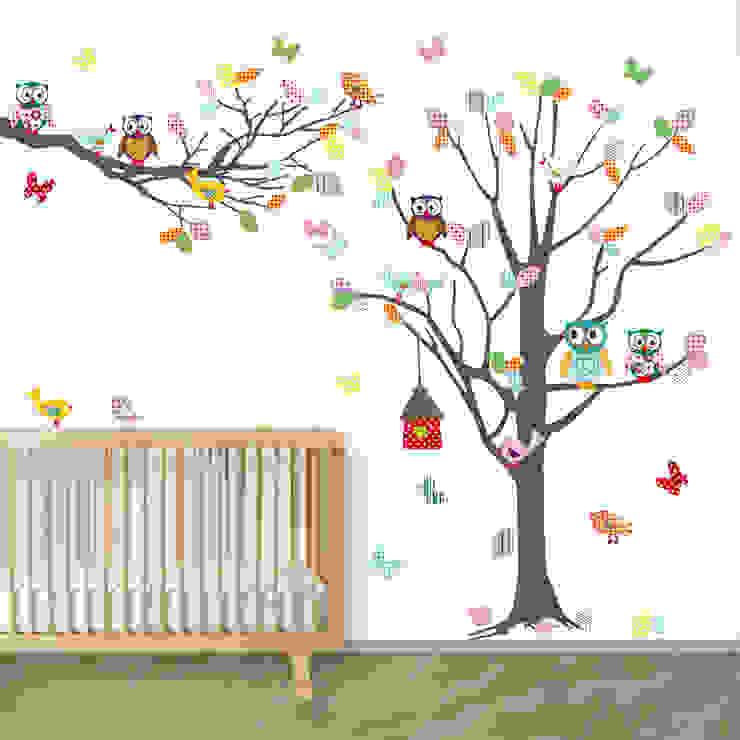 Stickers Voor Op De Muur Kinderkamer.Leuke Muurstickers Voor De Kinderkamer