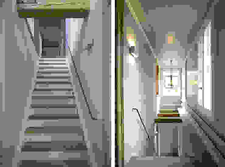 Dr. Schmitz-Riol Planungsgesellschaft mbH Country style corridor, hallway& stairs