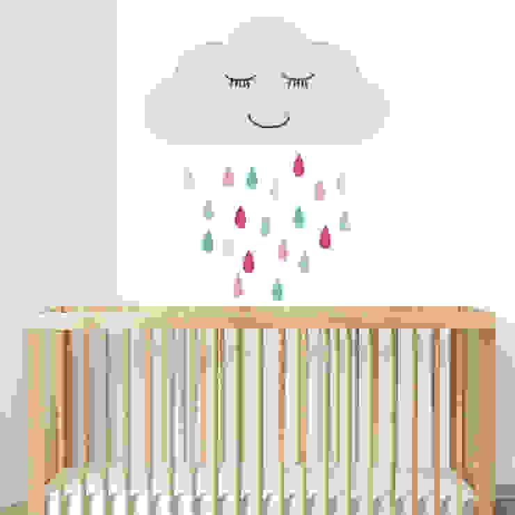 Muurstickers babykamer en kinderkamer van decodeco.nl Minimalistisch