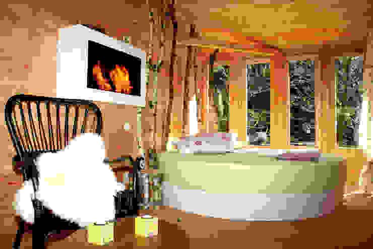 Hotel in stile scandinavo di Cabañas en los árboles Scandinavo