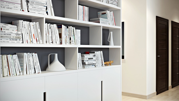 Apartment in Austria Гостиная в стиле лофт от Aleksandr Zenzura Лофт