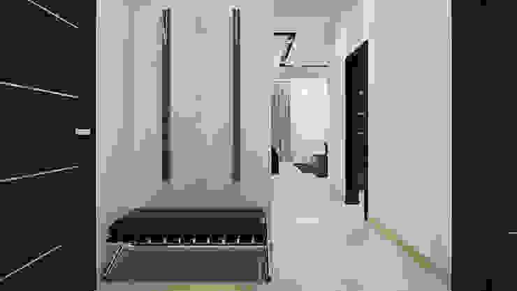 Apartment in Austria Коридор, прихожая и лестница в стиле лофт от Aleksandr Zenzura Лофт