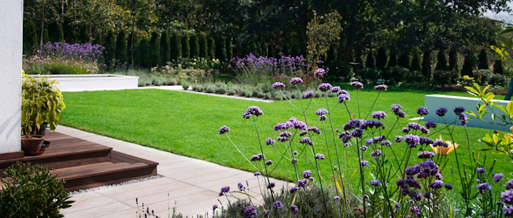 ogród horyzontalny SPRING architektura krajobrazu Nowoczesny ogród