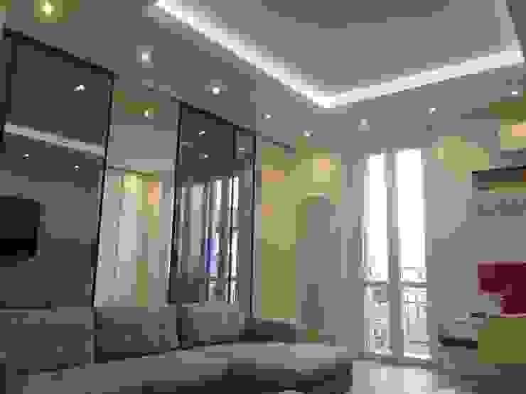 Progetto appartamento in Milano - 2015 Cozzi Arch. Mauro Soggiorno moderno