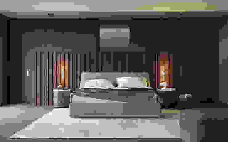 Визуализация интерьера спальни. : Спальни в . Автор – Aleksandra  Kostyuchkova
