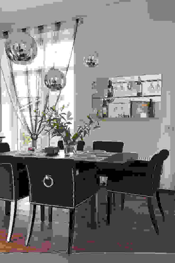 Comedores de estilo minimalista de Дизайн-студия Евгении Ансимовой 'AeHome' Minimalista