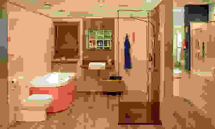 ห้องน้ำ โดย AZULEJOS HG SL, โมเดิร์น