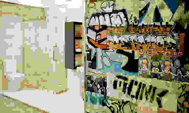 Azulejos Baño Moderne Badezimmer von AZULEJOS HG SL Modern