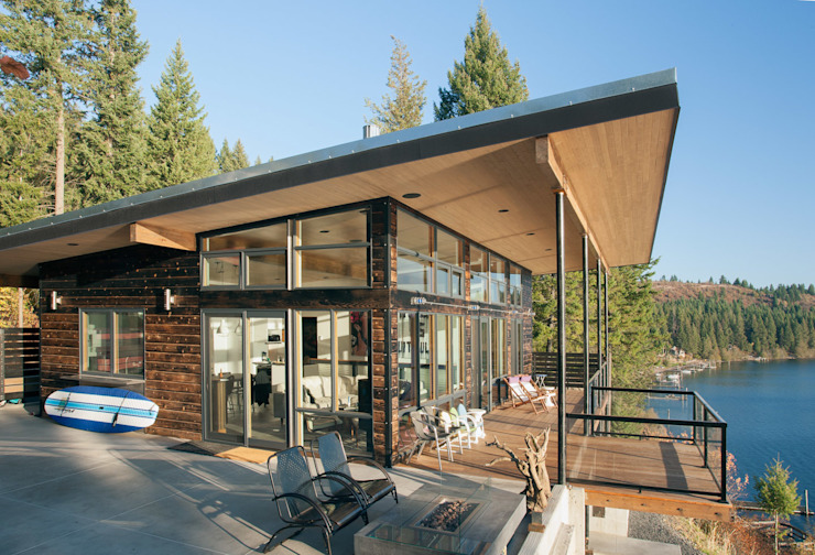 Camp Hammer Uptic Studios Modern home