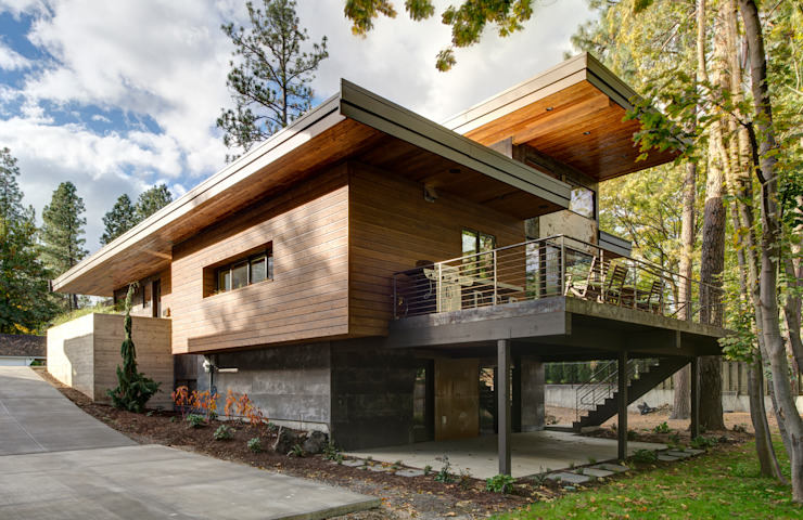 Denver Street Lot 7 Modern home by Uptic Studios Modern