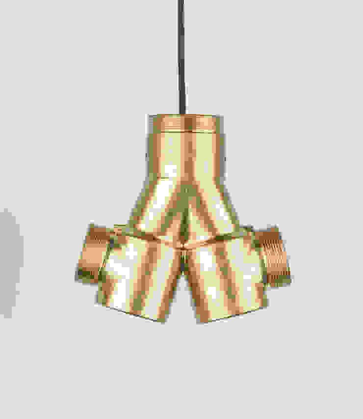 ST 02 od Firelamps Industrialny Aluminium/Cynk