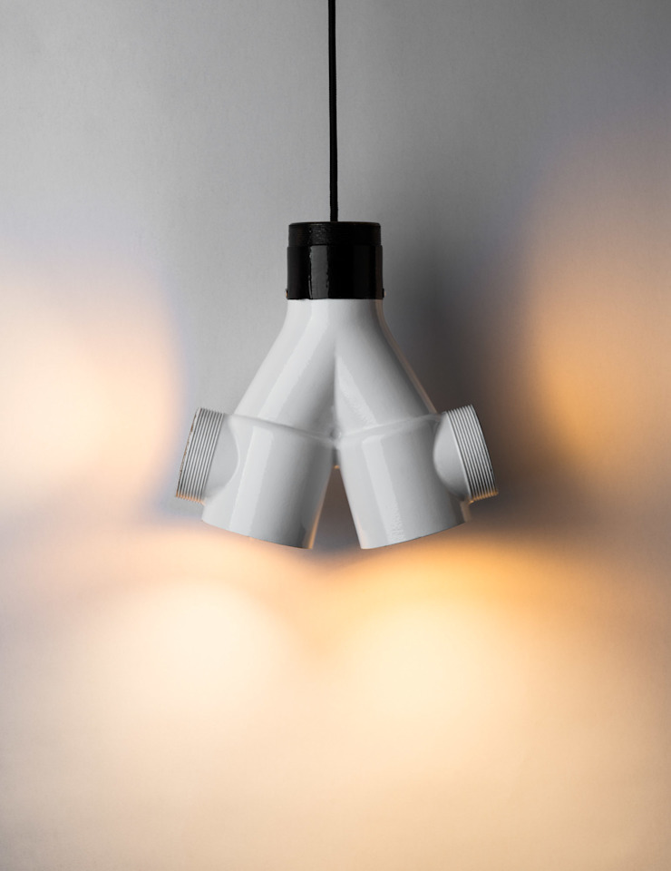 ST 04 od Firelamps Industrialny Aluminium/Cynk