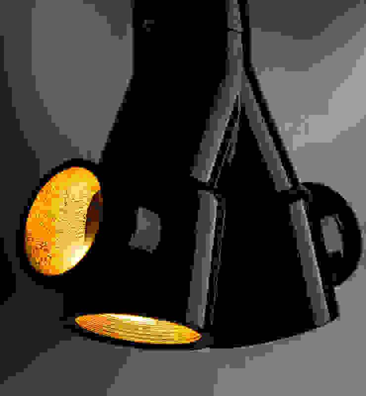 ST 05 od Firelamps Industrialny Aluminium/Cynk