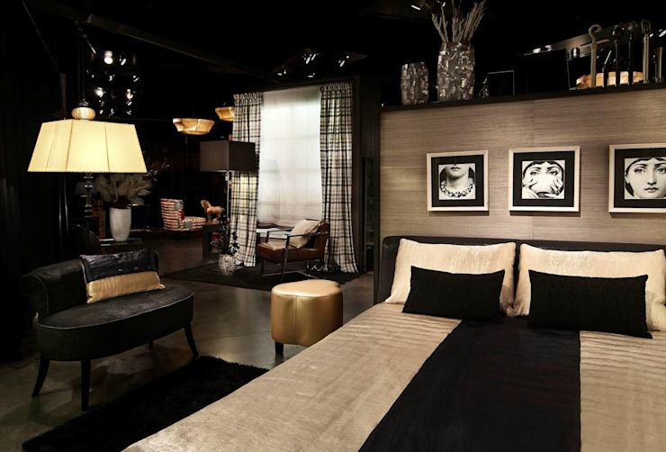 Ropa de hogar, cortinas de Grupo Lober Ecléctico