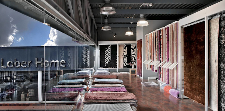 Showroom alfombras de Grupo Lober Ecléctico