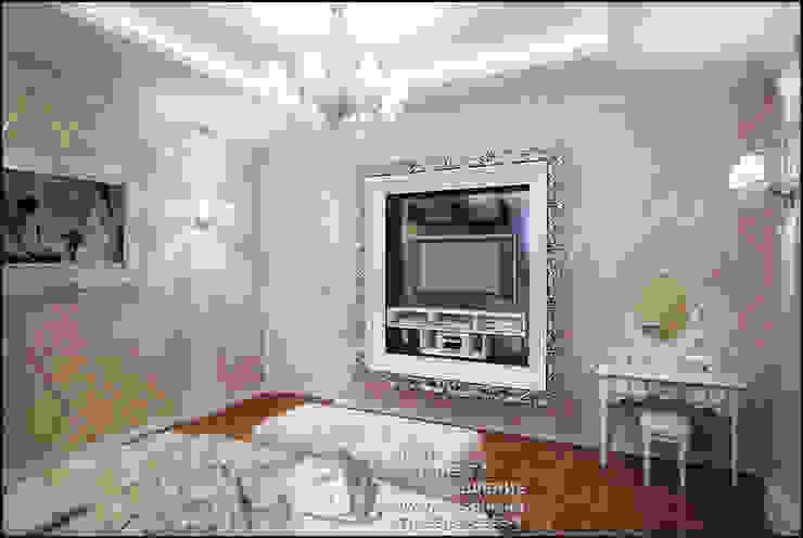 Фото интерьера спальни в стиле модерн Спальня в стиле модерн от Бюро домашних интерьеров Модерн