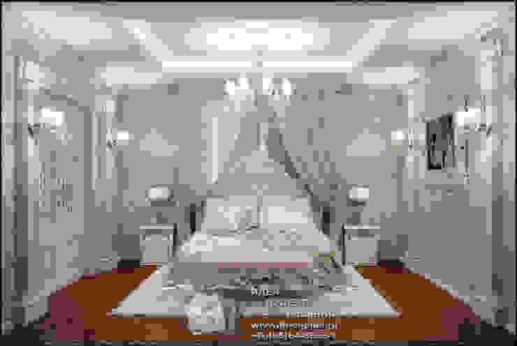 Фото интерьера классической спальни Спальня в классическом стиле от Бюро домашних интерьеров Классический