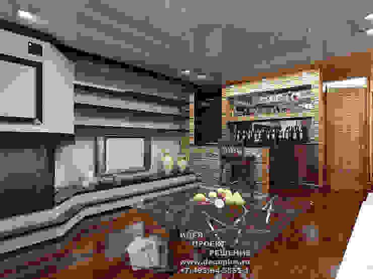 Дизайн холла в доме Гостиная в стиле модерн от Бюро домашних интерьеров Модерн