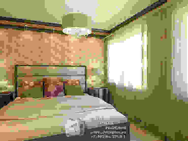 Фото интерьера спальни Спальня в классическом стиле от Бюро домашних интерьеров Классический