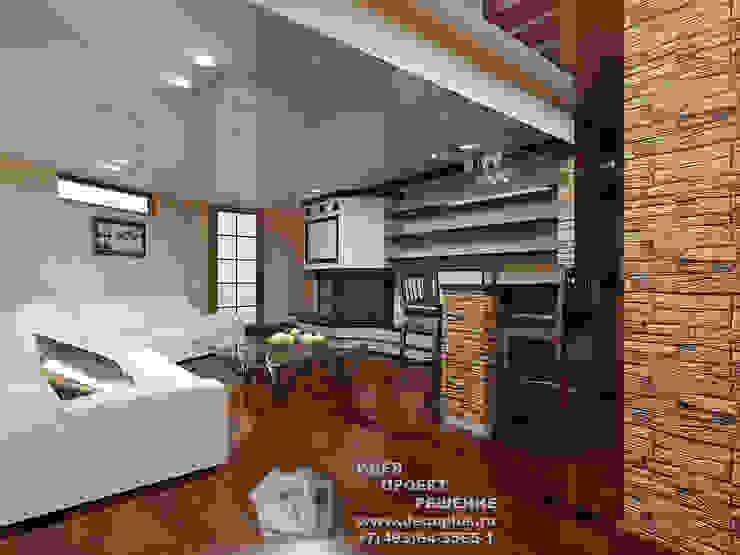 Белый диван и бар в загородном доме Гостиная в классическом стиле от Бюро домашних интерьеров Классический