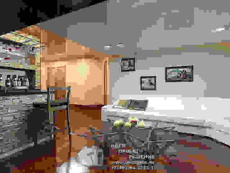 Интерьер бара в загородном доме Гостиная в классическом стиле от Бюро домашних интерьеров Классический