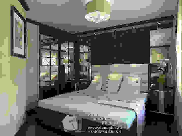Фото интерьера коричневой спальни Спальня в классическом стиле от Бюро домашних интерьеров Классический