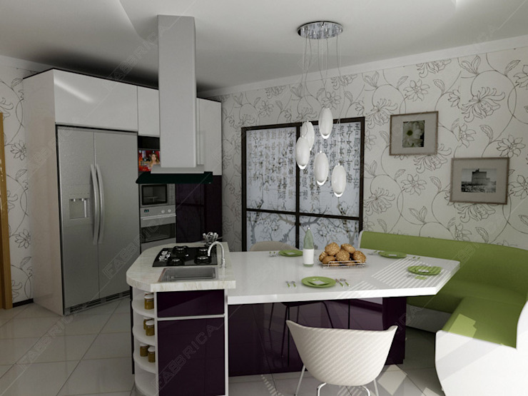 Kitchen by Fabbrica Mobilya, Modern