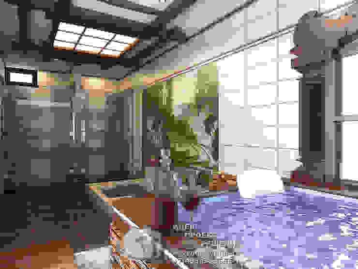 Мини-бассейн и фонтан в интерьере домашнего спа Спа в классическом стиле от Бюро домашних интерьеров Классический
