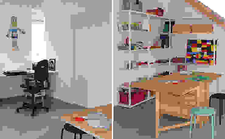 LEEFZOLDER | atelier Moderne studeerkamer van WEBERontwerpt | architectenbureau Modern