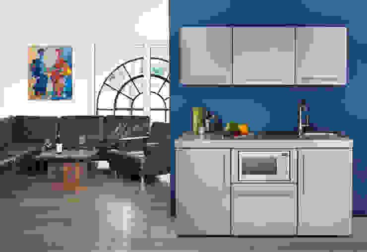 Stengel Küchen - Pantryküchen aus Metall Moderne Küchen von lemoboo AG Modern