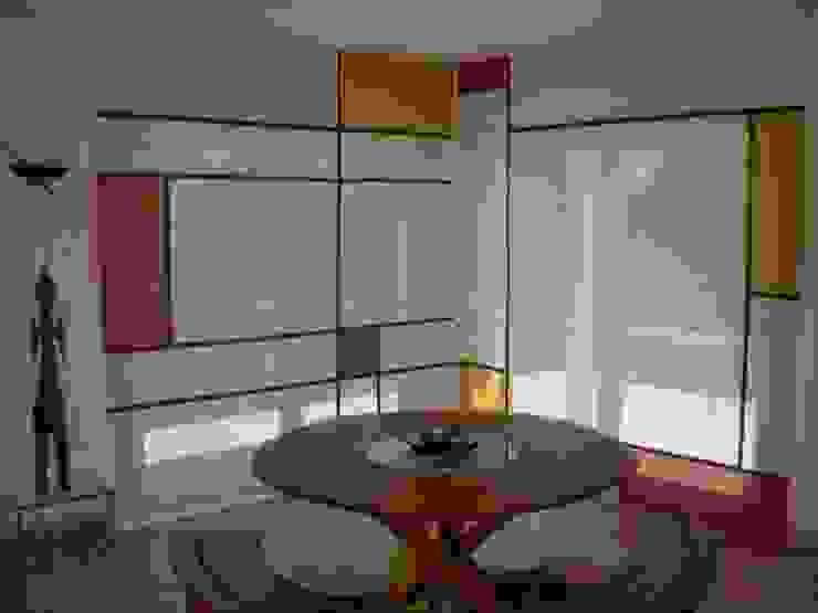 Van Brabandt Design textile Salas de estar ecléticas