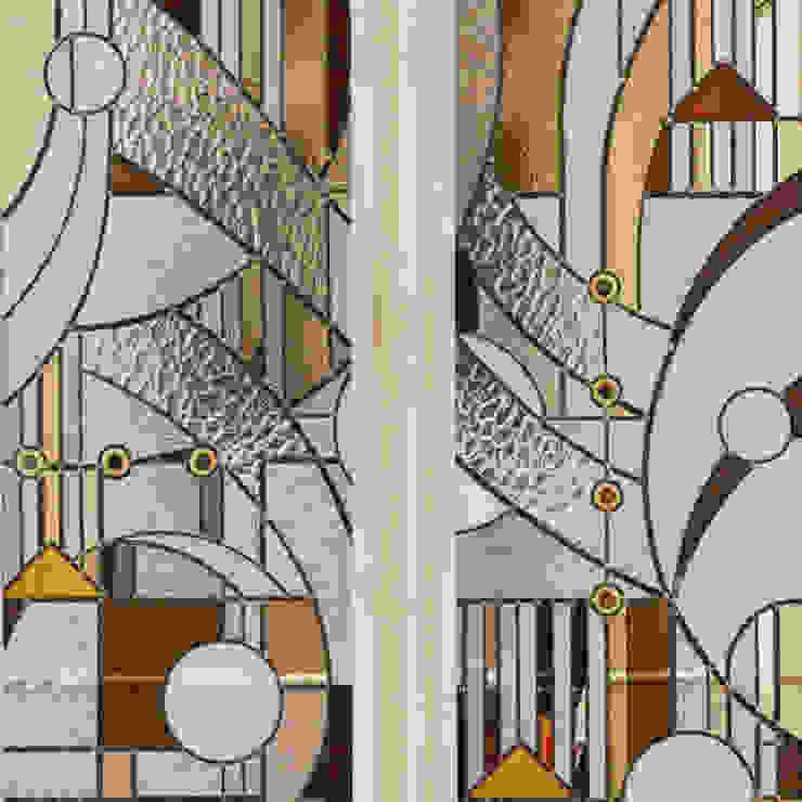 Catherine Nafziger - Atelier Kats Vitrail: modern tarz , Modern