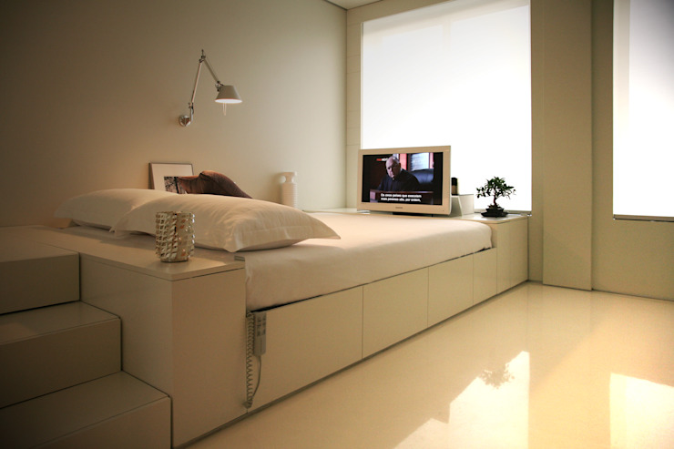 Dormitorios de estilo  de Consexto,