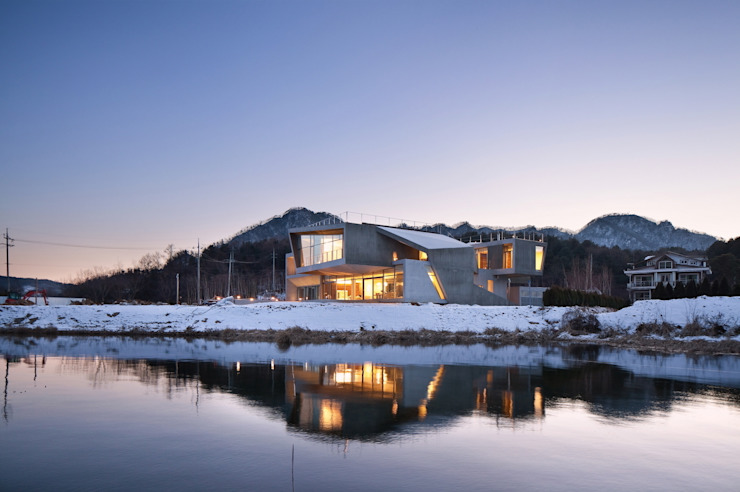Guesthouse Rivendell 모던스타일 주택 by KWAK, HEESOO [IDMM Architects] 모던