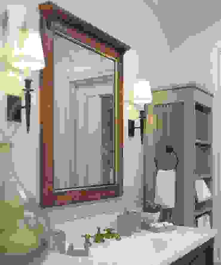 MJMarchdesign Rustic style bathroom