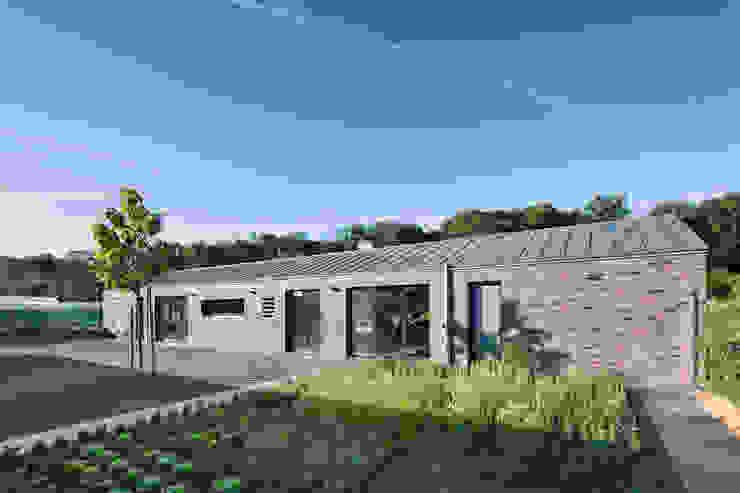 Jardines de estilo minimalista de Wichmann Architekten Ingenieure GmbH Minimalista