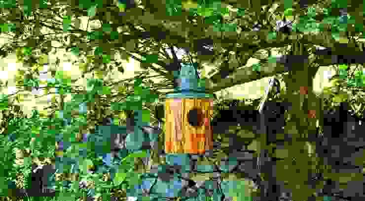 Elec-tronc par Jardin boheme Rustique