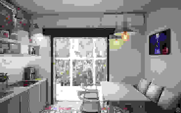 Cocinas de estilo industrial de Circle Line Interiors Industrial