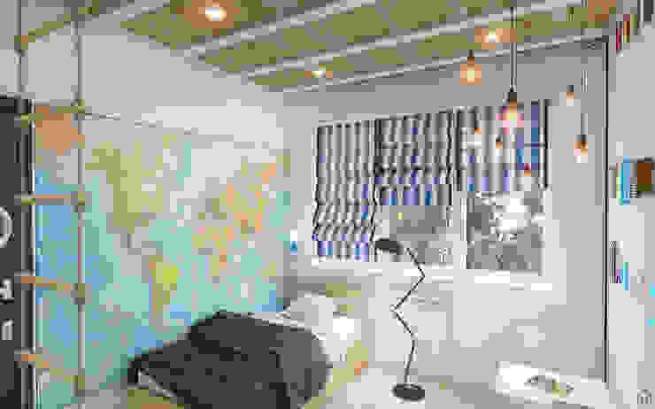 Dormitorios infantiles de estilo escandinavo de Circle Line Interiors Escandinavo