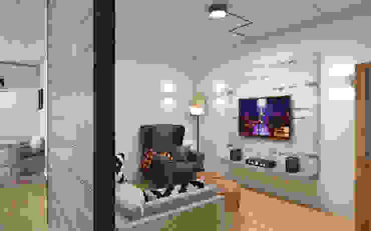 Salones de estilo industrial de Circle Line Interiors Industrial
