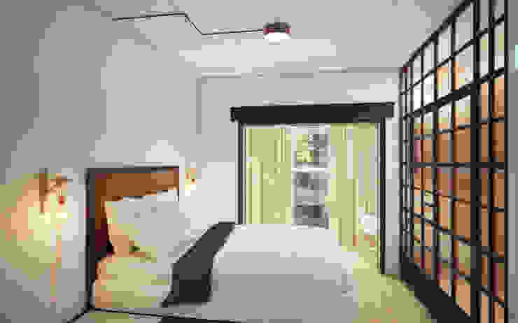 Dormitorios de estilo industrial de Circle Line Interiors Industrial