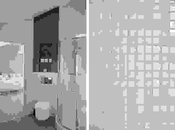Aménagement et décoration d'une maison à Genève Salle de bain moderne par Marion Lanoë Architecte d'Intérieur Moderne
