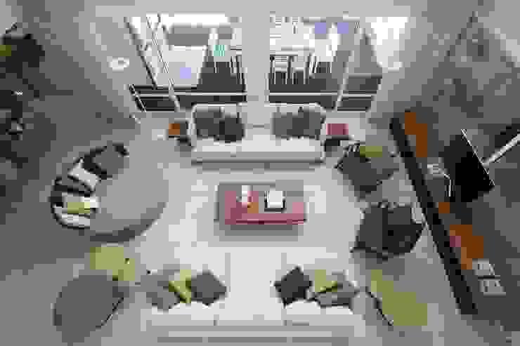 Salas modernas de Estudio Sespede Arquitectos Moderno