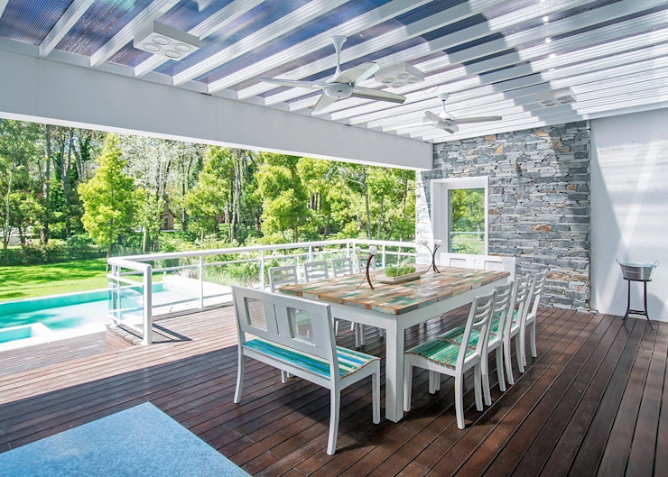 Jardines de estilo  por Estudio Sespede Arquitectos, Moderno