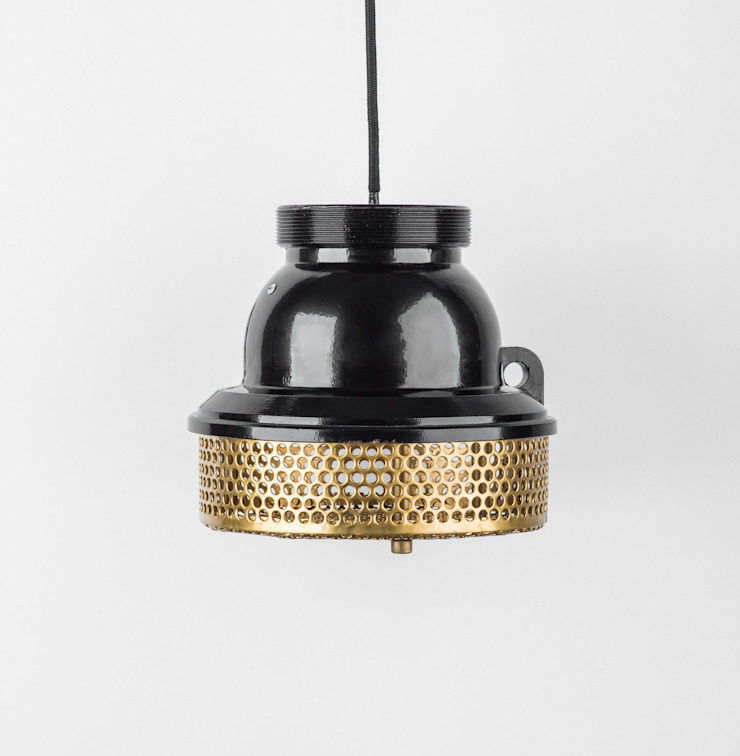 SU 02 od Firelamps Industrialny Aluminium/Cynk