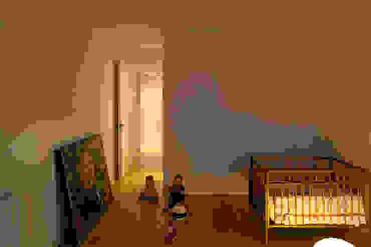 M Apartment Quartos de criança modernos por TERNULLOMELO Architects Moderno